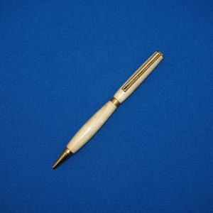 Tulip Wood and Gold Ball Point
