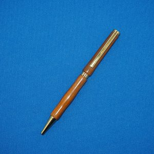 Rosewood and Gold Ball Point