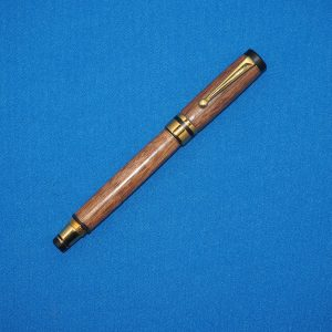 Walnut and Gold Fountain Pen