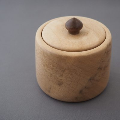 Sycamore lidded pot