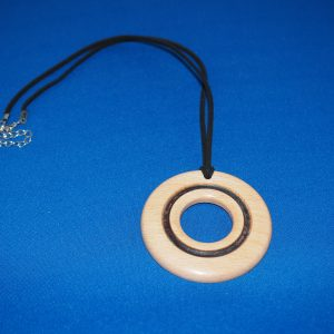 Beech Wood Pendant Necklace
