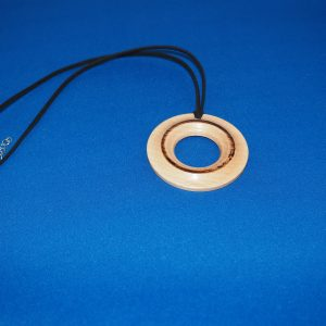 Beech Wood Pendant Necklace 2
