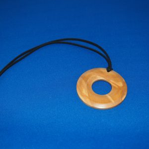 Olive Wood Pendant Necklace 4