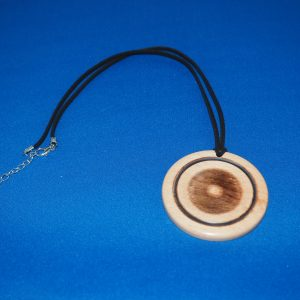 Beech Wood Pendant Necklace 3