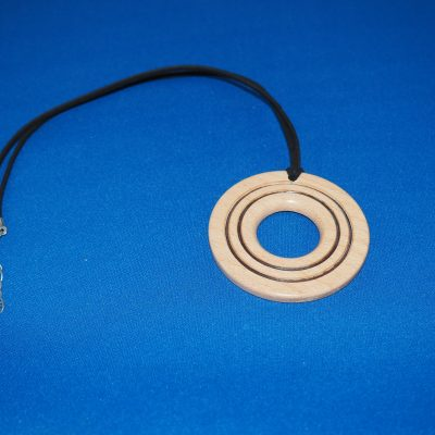 Beech Wood Pendant Necklace 4